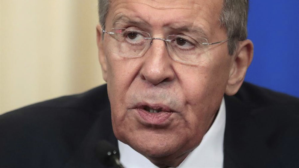 Ministro de Relaciones Exteriores de Rusia condena asesinato de Soleimani - Serguéi Lavrov,ministro de Relaciones Exteriores de Rusia. Foto