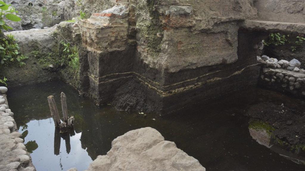 Descubren restos de un temazcal prehispánico en La Merced