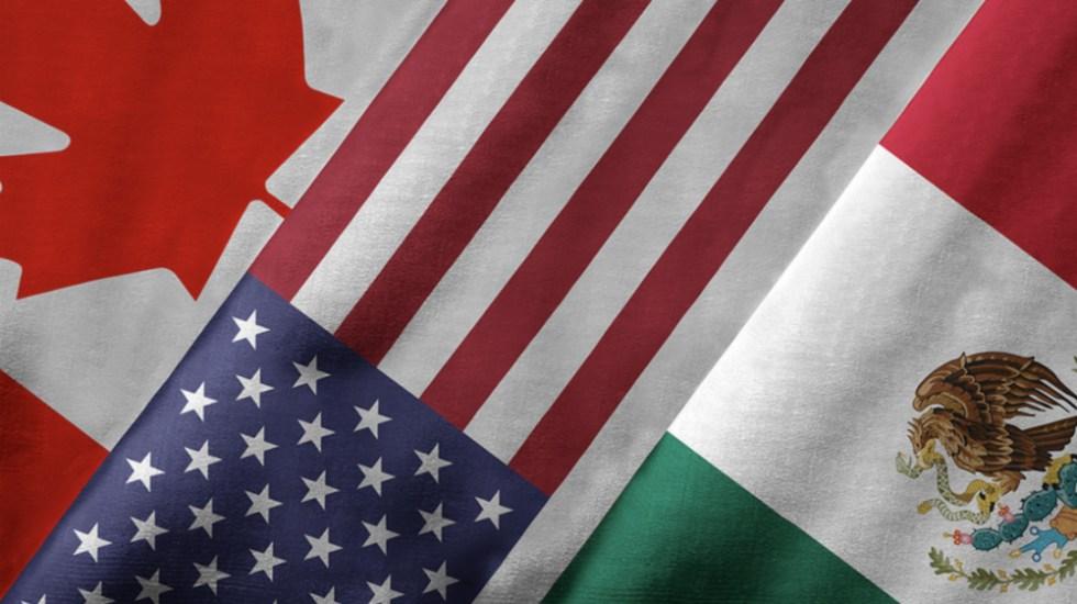 México, EE.UU. y Canadá evalúan avances para implementar el T-MEC - Foto de @FCM_online