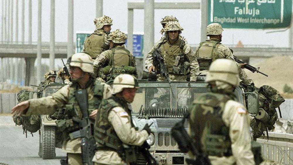 EE.UU. rechaza retirar tropas de Irak - Primer ministro de Irak denuncia entrada de tropas de EE.UU.