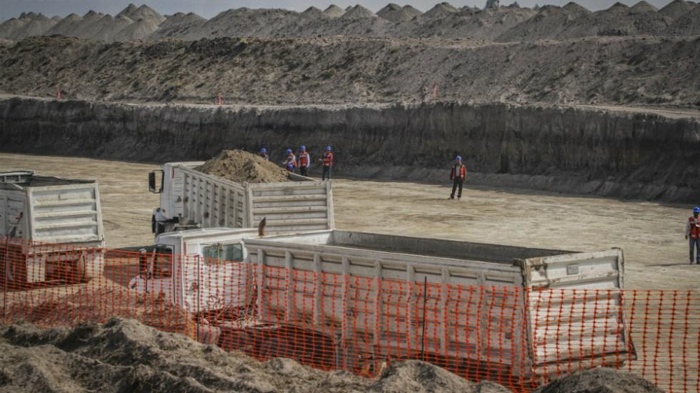 Avanza construcción del aeropuerto de Santa Lucía en 18.1 por ciento - Foto de Notimex