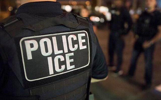 Liberan a mexicano implicado en violento incidente con ICE en Nueva York - Agente de ICE. Foto de @ICEgov