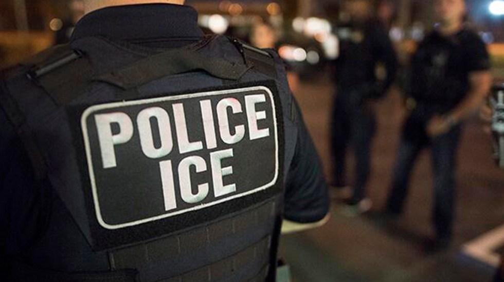 Mexicano que recibió disparo en la cara demanda a ICE - Agente de ICE. Foto de @ICEgov