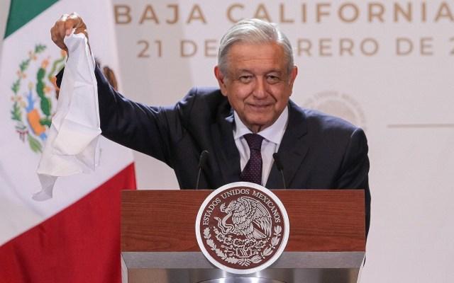 AMLO visita Baja California Sur - El presidente Andrés Manuel López Obrador