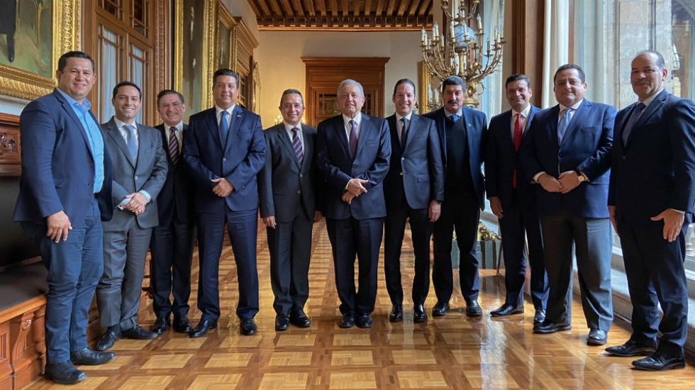 Sin acuerdos AMLO y gobernadores del PAN sobre Insabi - Foto de LopezObrador.org.mx