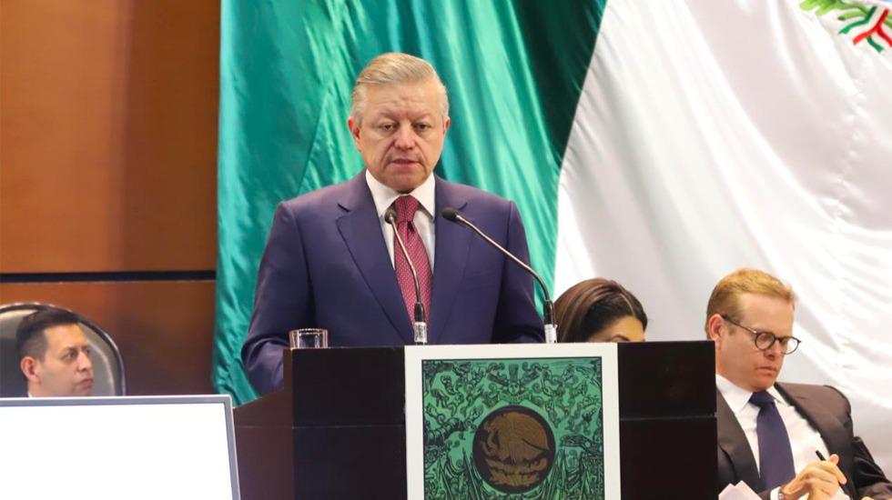 Arturo Zaldívar presenta reforma del Poder Judicial - Arturo Zaldívar Cámara de Diputdos 2