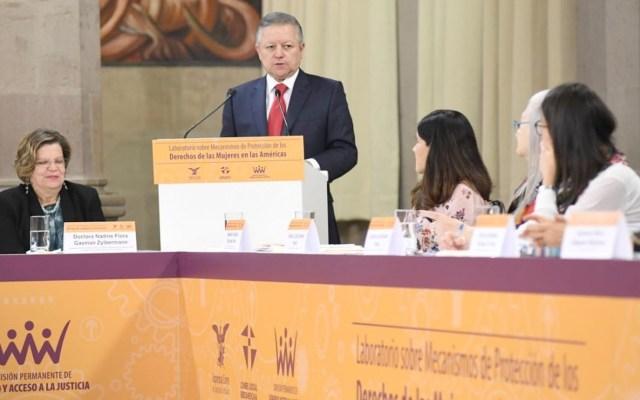 Tipificación de feminicidio puede perfeccionarse pero no desaparecer, afirma Zaldívar - Arturo Zaldívar