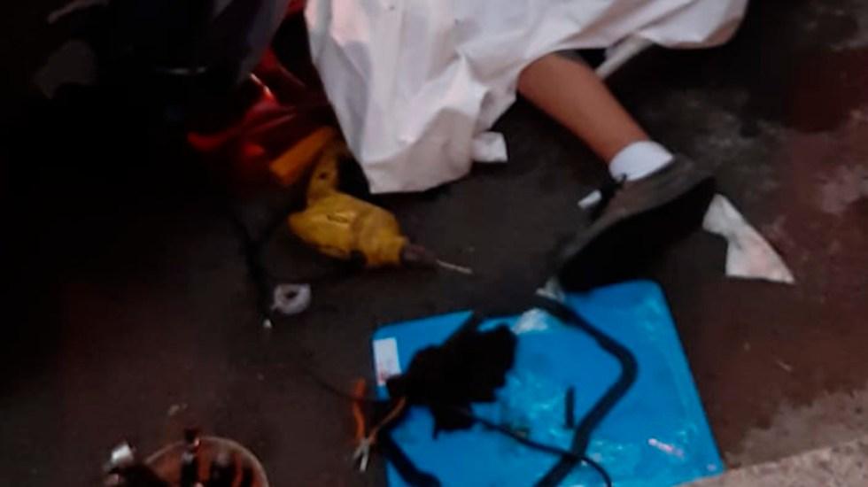 Asesinan a tiros a pareja y bebé de siete meses en Guatemala - Asesinato de adultos y un bebé en Ciudad Guatemala. Foto de @marlonvilledagt