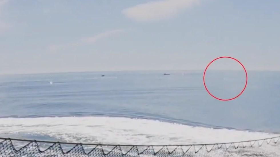 #Video Atacan buque de vigilancia en Alto Golfo de California - Ataque Alto Golfo California