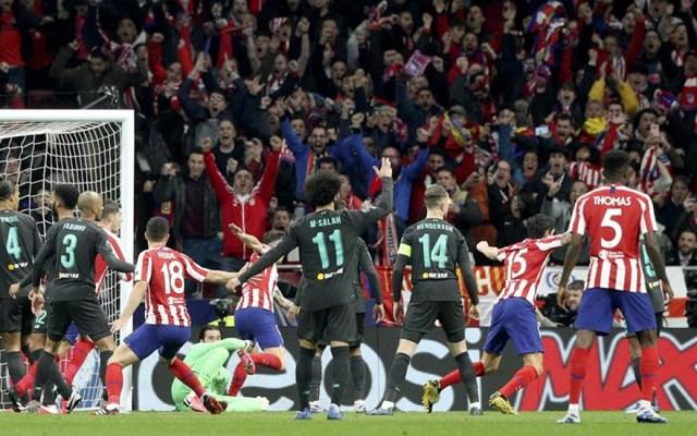 Atlético de Madrid resurge contra el Liverpool - atlético de madrid vs liverpool