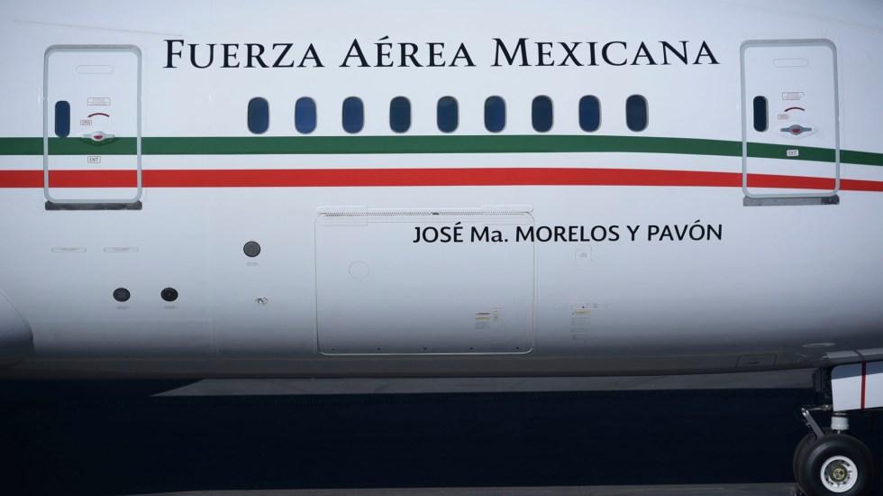 Boletos para rifa del avión presidencial listos a finales de febrero, dijo AMLO - El avión presidencial TP-01 o José María Morelos y Pavón