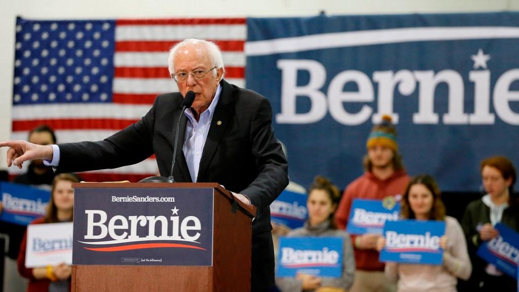 Inteligencia de EE.UU. asegura injerencia rusa a favor de Bernie Sanders - Bernie Sanders en campaña. Foto de EFE