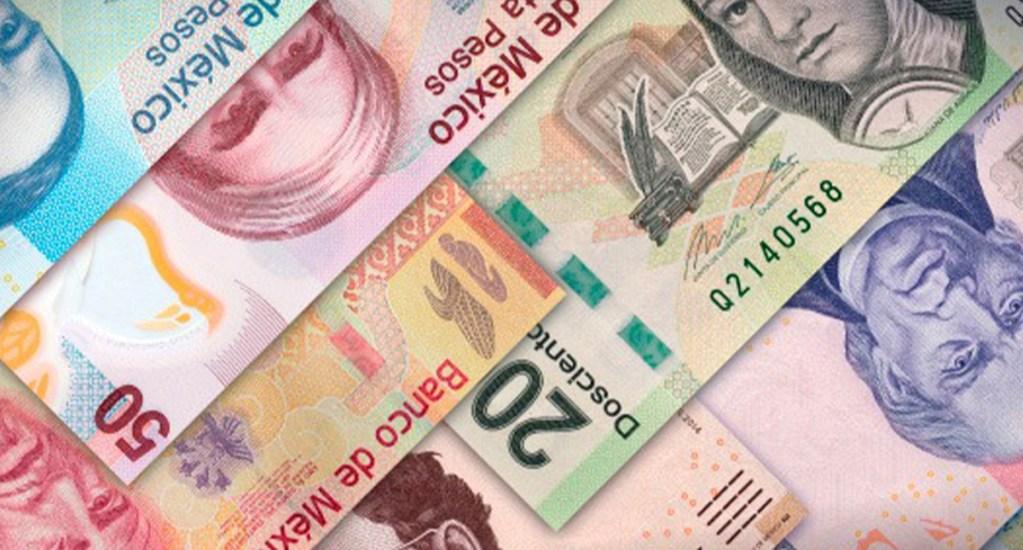 UIF y SSC congelan mil 352 cuentas a 14 grupos delictivos de la Ciudad de México - Imagen ilustrativa de billetes mexicanos. Foto Especial-LDD.