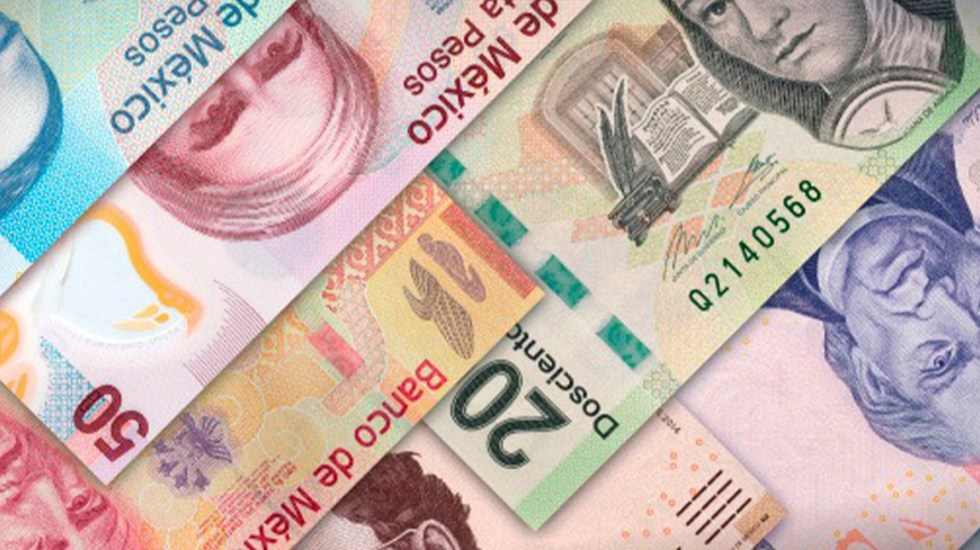 México tuvo superávit primario de 155 mmdp a agosto de 2020 - Imagen ilustrativa de billetes mexicanos. Foto Especial-LDD.
