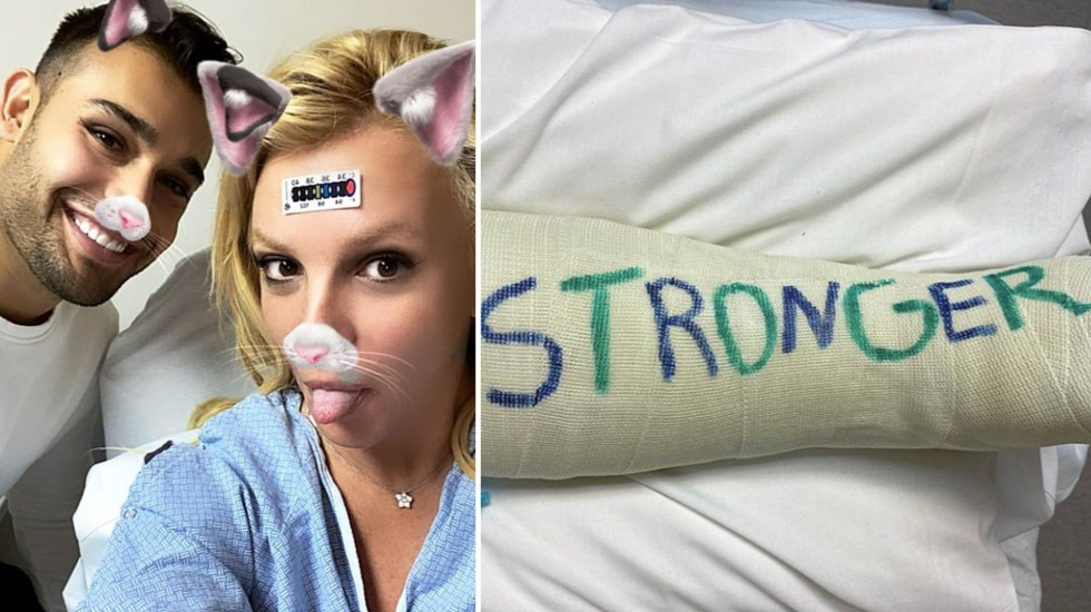 Britney Spears se fractura un dedo del pie mientras bailaba - Britney Spears artista cantante lesión fractura