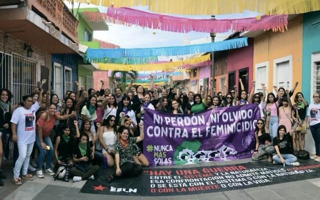 El feminismo y la derecha están contrapuestos: organizadoras del paro de mujeres - Foto de Twitter Brujas del mar