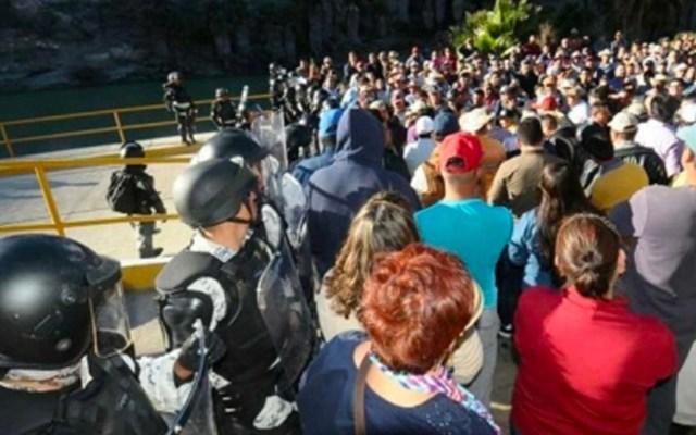 UIF congela cuentas de políticos relacionados con toma de presa La Boquilla - Campesinos se enfrentan a la GN por entrega de agua de la Presa La Boquilla