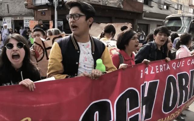 Alumnos de CCH Oriente se van a paro de 72 horas - Captura de pantalla