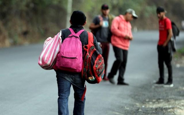 Segunda caravana de migrantes hondureños entró a Guatemala legalmente - Caravana migrante Guatemala hondureños