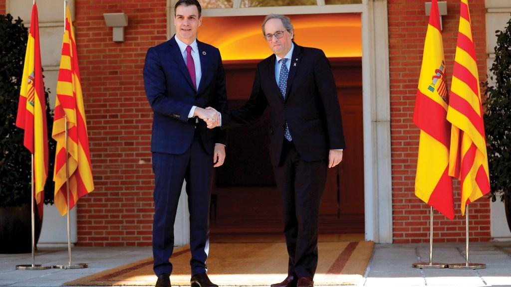 España y Cataluña acuerdan sostener reuniones mensuales - Foto de EFE