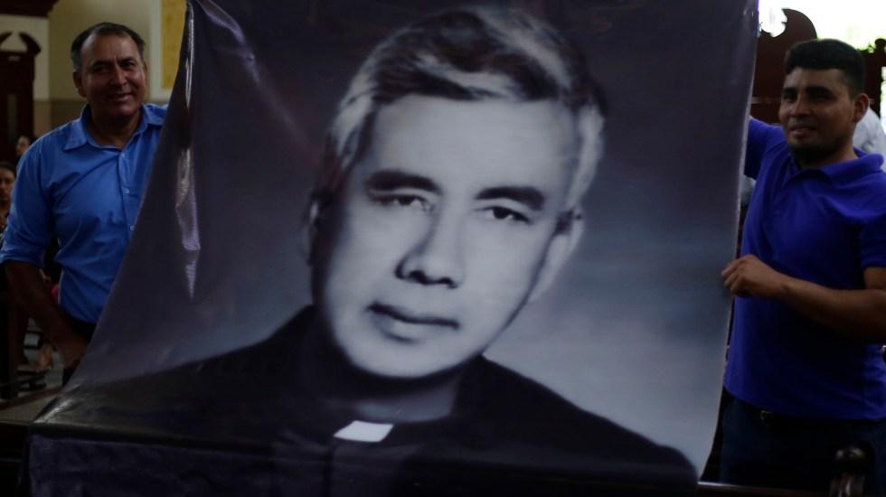 Celebran reconocimiento como mártir del cura Rutilio Grande en El Salvador - Celebran reconocimiento como mártir del cura Rutilio Grande en El Salvador