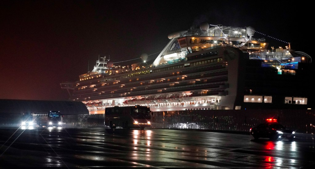 Catorce estadounidenses desalojados del crucero Diamond Princess dan positivo por Covid-19 - Catorce estadounidenses evacuados del crucero Diamond Princess dan positivo por Covid-19