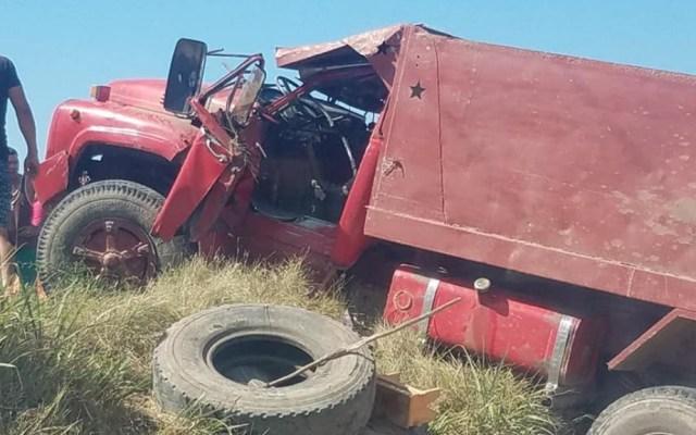 Accidente de camión en Cuba deja tres muertos - Cuba accidente camión muertos heridos 2