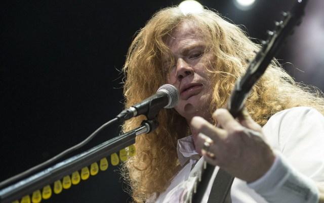 Dave Mustaine revela que está completamente libre de cáncer - Dave Mustaine Megadeth