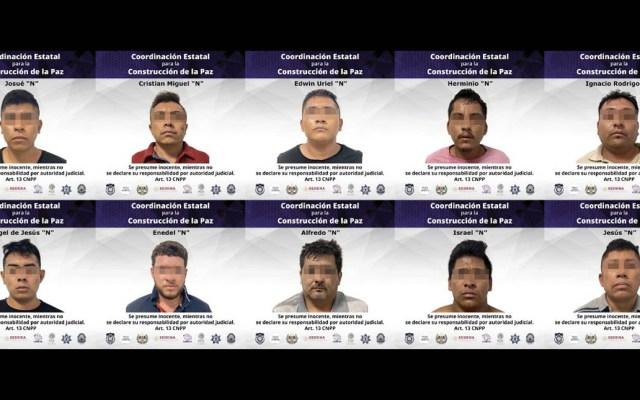 Vinculan a proceso a 10 por secuestro de periodista en Morelos - Detenidos secuestro Morelos periodista
