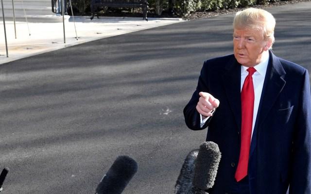 Trump señala a fiscal de su juicio político por filtraciones sobre injerencia rusa - Donald Trump Estados Unidos Casa Blanca 23022020