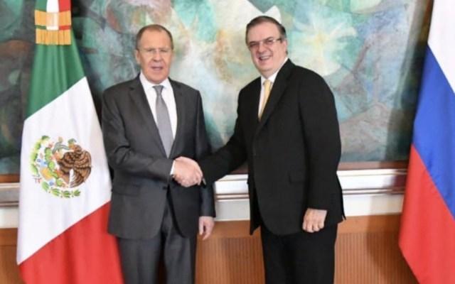 Rusia y México abordan desarme, ONU y mercado de tequila - Foto de SRE