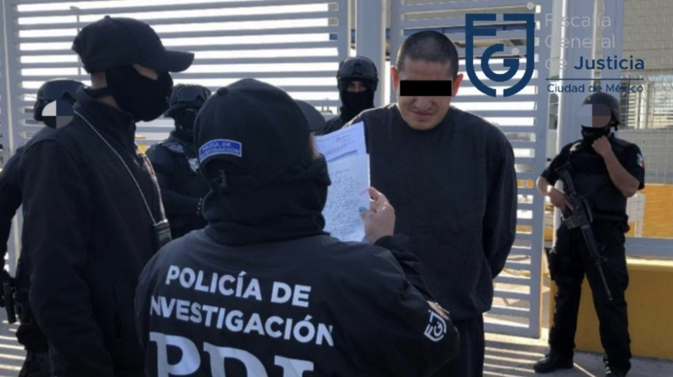 """Ordenan nuevamente liberación de """"El Lunares"""" - Foto de FGJ CDMX"""