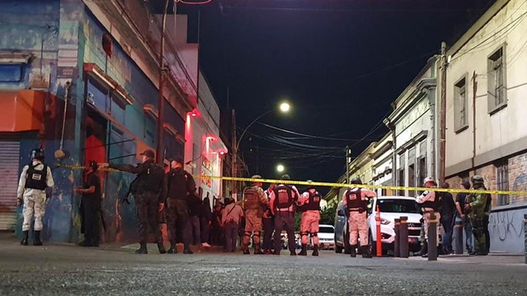 Enfrentamiento en Centro de Guadalajara termina con varios detenidos - Enfrentamiento centro Guadalajara Jalisco