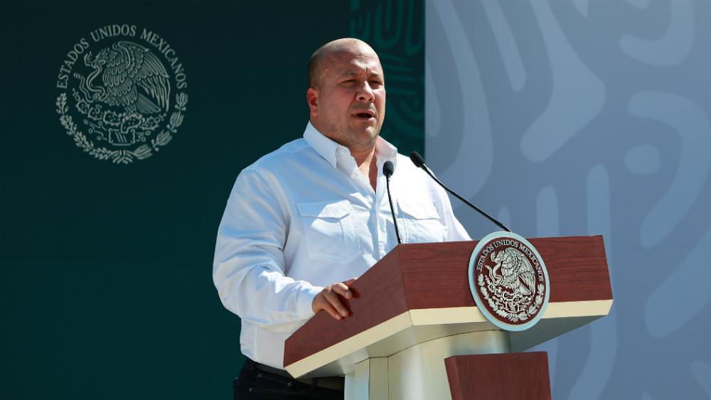 Inseguridad no ha sido tema fácil, reconoce Alfaro ante López Obrador - Foto de Notimex