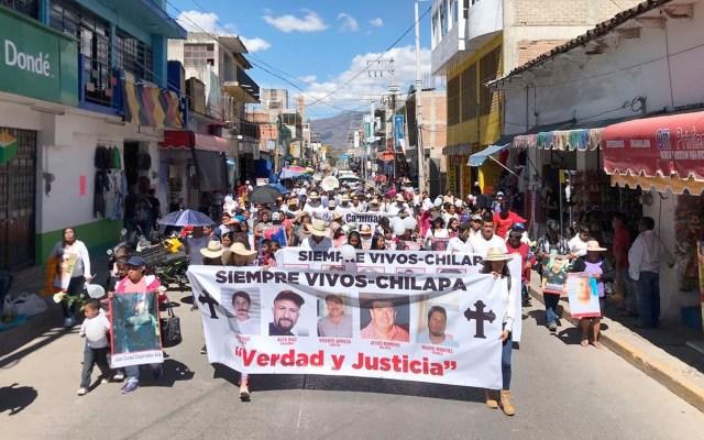 Familia LeBarón encabeza Caminata por la Verdad, Justicia y Paz en Chilapa - Familia LeBarón Caminata por la Verdad, Justicia y Paz en Chilapa