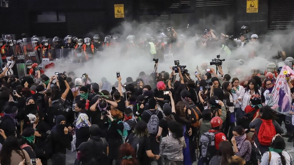 Feminicidios en México: la demanda de justicia - Feminicidios Ciudad de México Marcha feministas 8