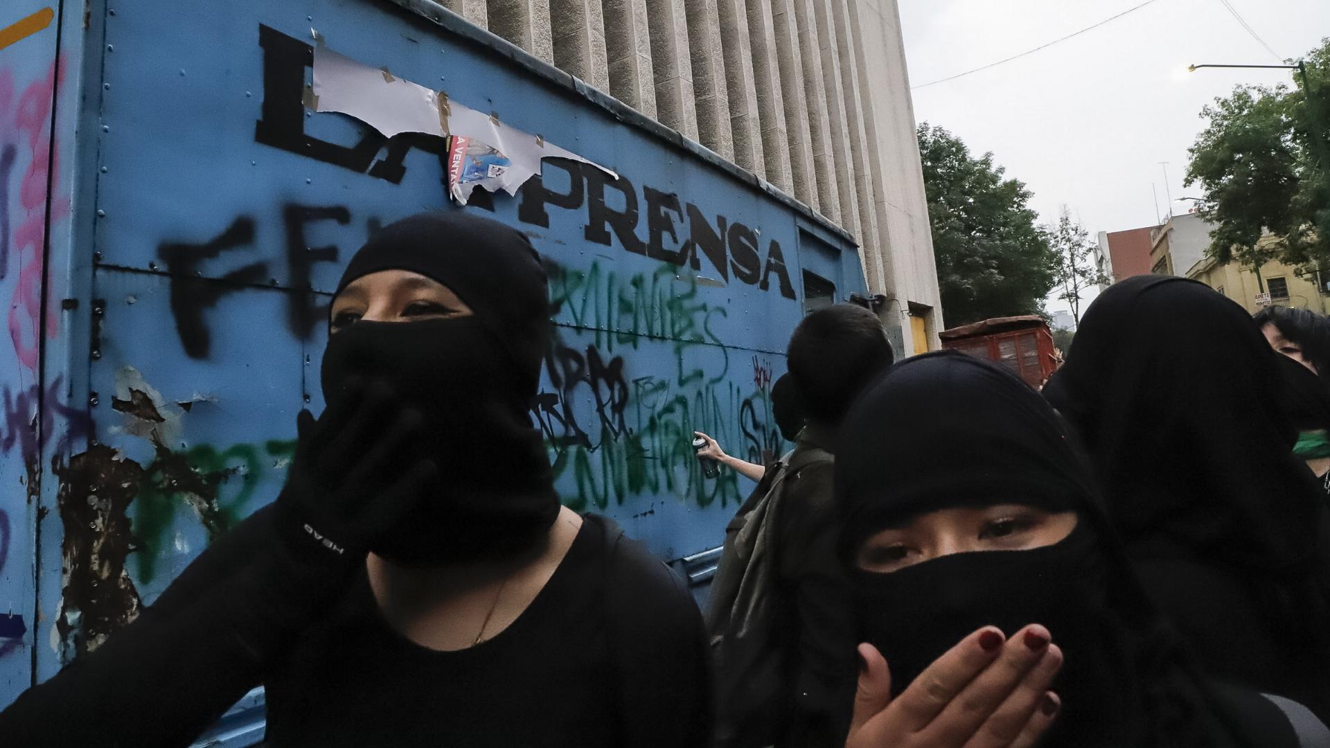 Feminicidios Ciudad de México Marcha feministas