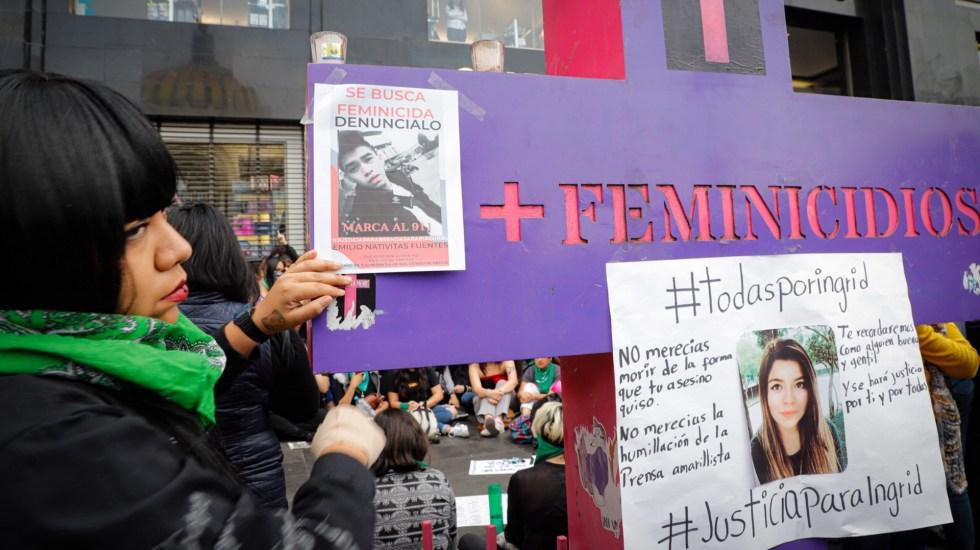 Mayo de 2021, el tercer mes con más feminicidios en lo que va del sexenio - Feminicidios Ciudad de México Marcha feministas