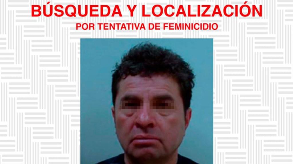 Ofrecen 1 millón de pesos por exdiputado acusado de ataque con ácido a saxofonista - Ficha de búsqueda del exdiputado Juan Antonio V. C. Foto de @FISCALIA_GobOax
