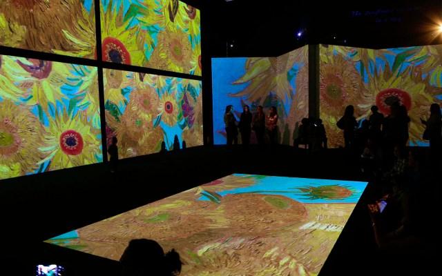 """Exposición """"es como sentir la inspiración de Van Gogh en carne viva"""", asegura Bernardo Noval - Galería de Van Gogh Alive The Experience México. Foto de @VanGoghAliveMx"""