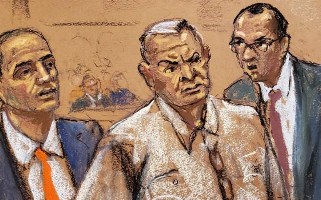Presentan pruebas contra exmando de la Policía Federal ligado a García Luna - Genaro García Luna audiencia Nueva York