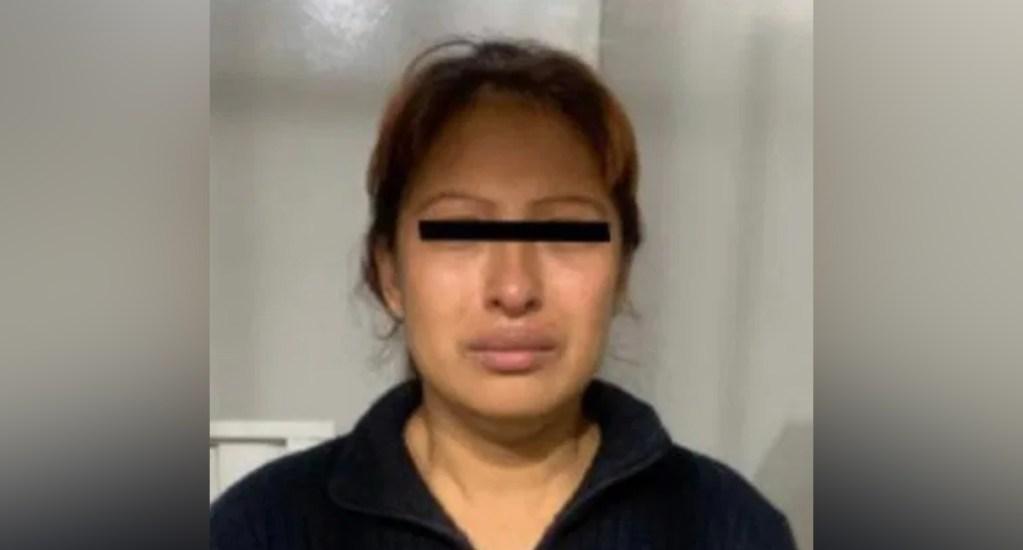 """""""Ella es incapaz de hacer algo así"""", asegura madre de la presunta asesina de Fátima - Gladis Giovana C. H.,. Foto de FGJ Edomex"""