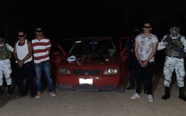 Detienen a tres sujetos en Guerrero con armas y droga - Guerrero detenidos armas drogas