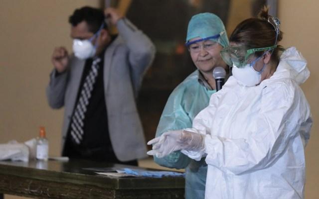 Mujer que viajaba en crucero y desembarcó en Honduras murió por neumonía - Foto de Secretaría de Salud de Honduras