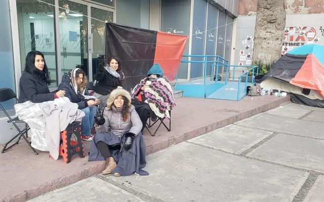 Inicia segundo día de huelga en Notimex; denuncian nulo avance en las negociaciones - Inicia el segundo día de huelga en Notimex