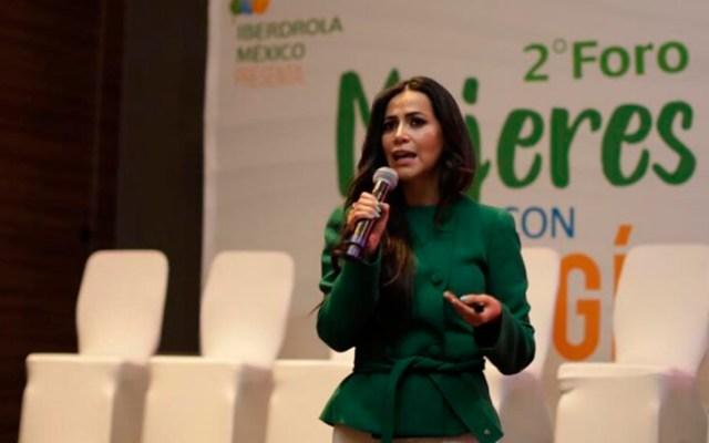 Expertas advierten que el sector energético está 'masculinizado' en México - Katya Somohano, directora de Energía de Grupo DEACERO, en el 2do Foro Mujeres con Energía. Foto de @iberdrolamex