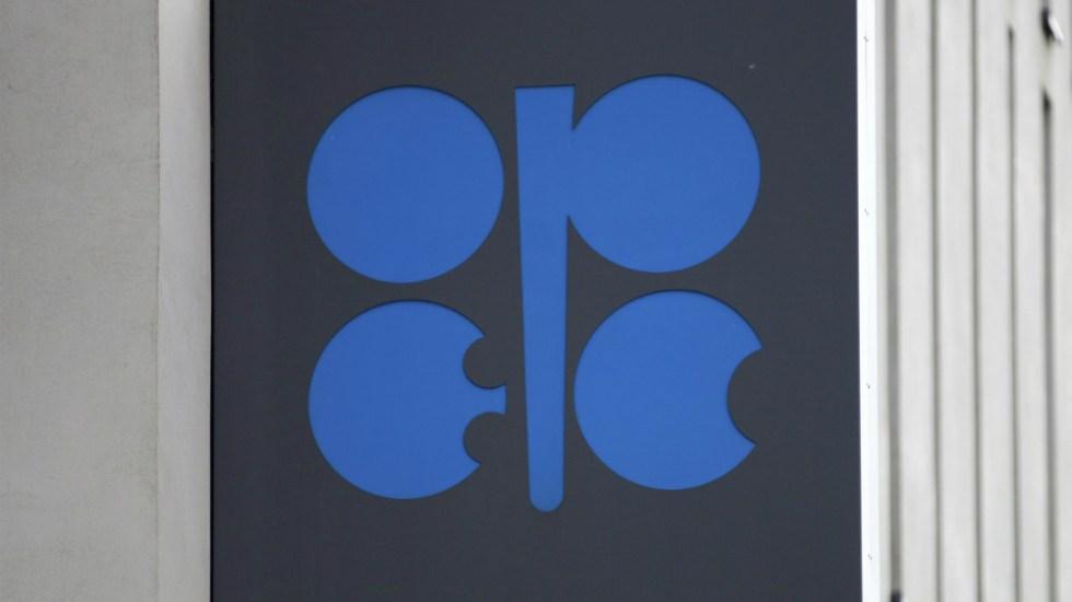 OPEP reduce un 19 por ciento crecimiento de demanda de petróleo por Covid-19 - Logo de la OPEP. Foto de EFE