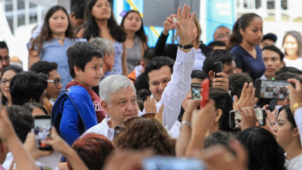 No más apagones en Península de Yucatán, promete López Obrador - Foto de Notimex