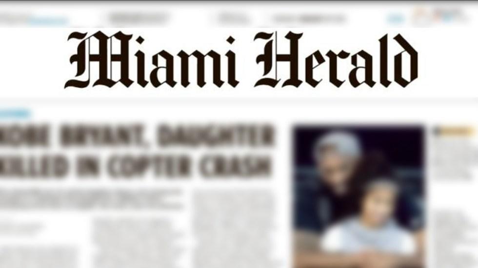 Empresa editorial de Miami Herald se declara en bancarrota - Empresa editorial de Miami Herald se declara en bancarrota
