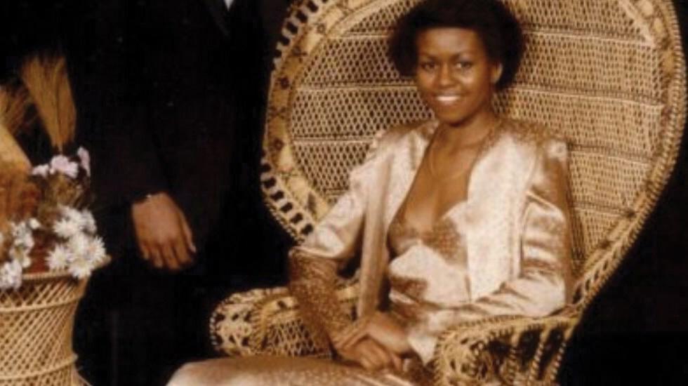 Michelle Obama comparte foto de su graduación para promover el voto - Foto de Twitter Michelle Obama